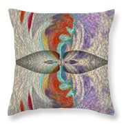 Wrap Oil Art Painting  Throw Pillow