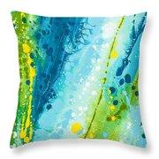 Wraparound Winter Throw Pillow