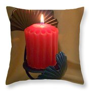 Wrapped In A Golden Glow Throw Pillow