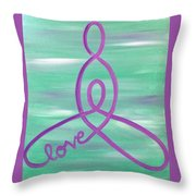 Wrapped In Love Throw Pillow