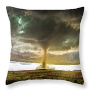 Wray Colorado Tornado 070 Throw Pillow