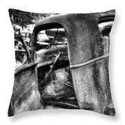 Wrecking Yard Study 11 Throw Pillow