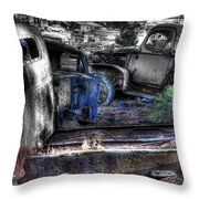 Wrecking Yard Study 12 Throw Pillow