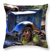 Wrecking Yard Study 15 Throw Pillow
