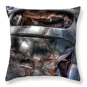 Wrecking Yard Study 2 Throw Pillow