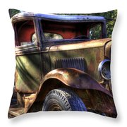 Wrecking Yard Study 24 Throw Pillow