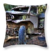 Wrecking Yard Study 3 Throw Pillow