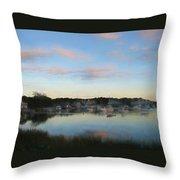 Wrentham Sunset Throw Pillow
