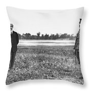 Wright Brothers, 1909 Throw Pillow