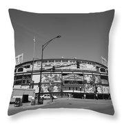 Wrigley Field - Chicago Cubs 21 Throw Pillow