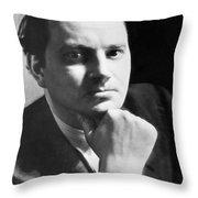 Writer Thomas Wolfe Throw Pillow