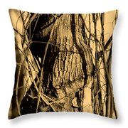 Writhe Of My Soul Throw Pillow