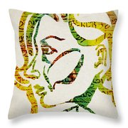 Written In Stone Throw Pillow