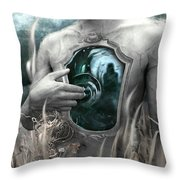 Written In Waters Throw Pillow