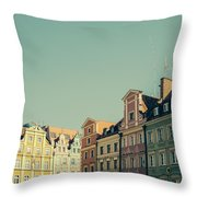 Wroclaw Architecture Throw Pillow