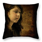 Wuthering Hights Throw Pillow