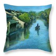 Wuzhen Time Throw Pillow