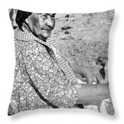 Wuzzie Northern Paiute Throw Pillow