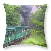 Wv Passenger Car 15 Throw Pillow