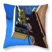Wvlg 640am Throw Pillow