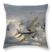 Ww1 - 'wings' Throw Pillow