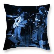 Ww#7 Enhanced In Blue Throw Pillow