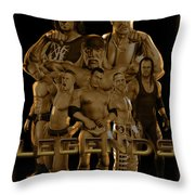 Wwe Legends By Gbs Throw Pillow