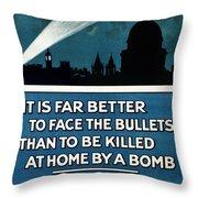 Wwi: Poster, 1915 Throw Pillow
