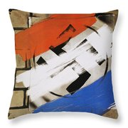 Wwii: Anti-nazi Poster, 1944 Throw Pillow by Granger