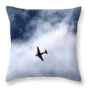Douglas C-47 Skytrain 2 - The Drop Throw Pillow