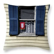 Wwii Homefront Throw Pillow by Granger