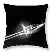 Wwii, Republic P-47 Thunderbolt Throw Pillow