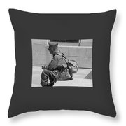 Wwii Vet Throw Pillow