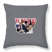Wwrd? Throw Pillow