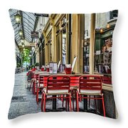 Wyndham Arcade Cafe 1 Throw Pillow