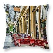 Wyndham Arcade Cafe 2 Throw Pillow