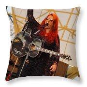 Wynona With Attitude Throw Pillow