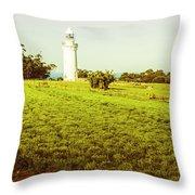 Wynyard Lighthouse Way Throw Pillow
