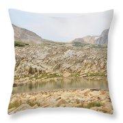 Wyoming At Altitude 4 Throw Pillow