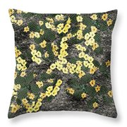 Wyoming Cactus Throw Pillow