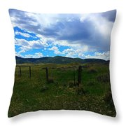 Wyoming Glen  Throw Pillow