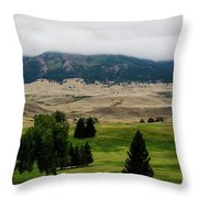 Wyoming Landscape 51a Throw Pillow