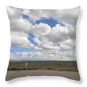 Wyoming Pet Area Throw Pillow