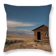 Wyoming Shack Throw Pillow
