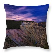 Wyoming Sunset Throw Pillow
