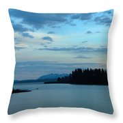 Wyoming Sunset Throw Pillow