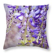 Wysteria Throw Pillow