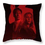 X-files  Throw Pillow
