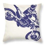 X Games Motocross 1 Throw Pillow