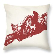 X Games Motocross 2 Throw Pillow